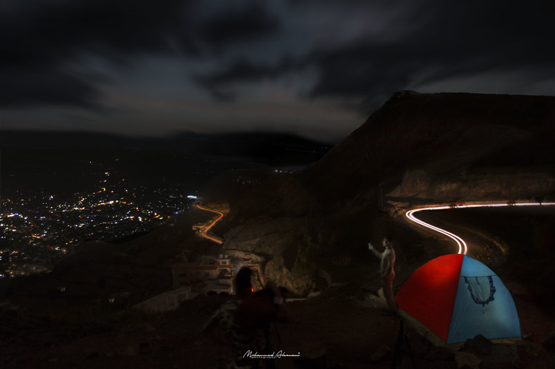 تصوير ليلي مدينة إب Cameraman/mohammde alsanani عدسة المصور محمد الصنعاني  اليمن  إب  Yememn  lbb  مصورين اليمن  مصورين العرب