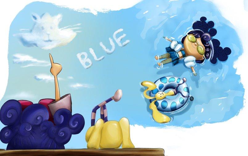 تصميم شخصيات و رسومات كتاب أطفال