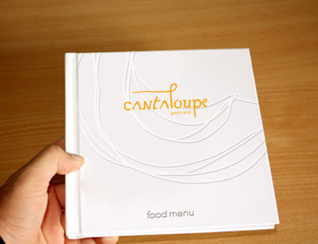 Cantaloupe food menu design-1