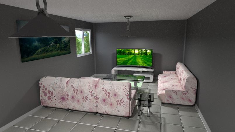 غرفة بسيطة