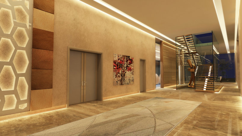 MODERN VILLA _ FAMILY ENTRANCE _ GF