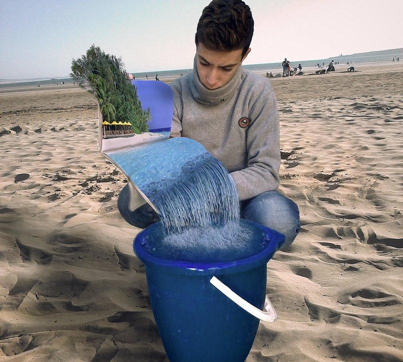 البحر 3D