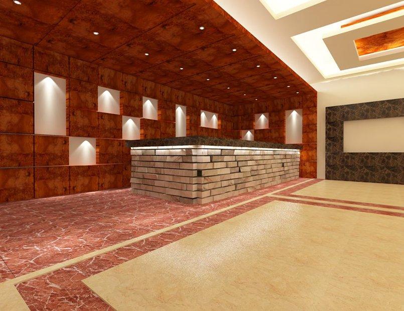 صالة استقبال فندق