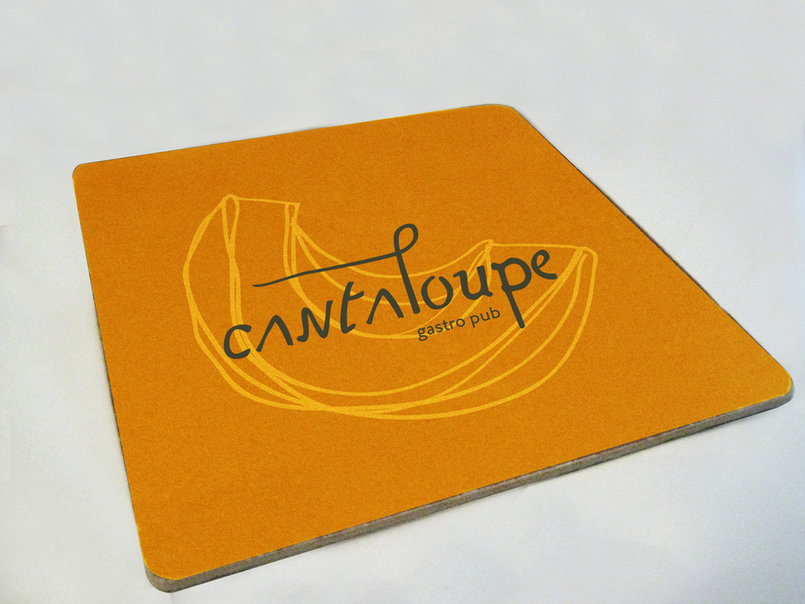 Cantaloupe-coaster design