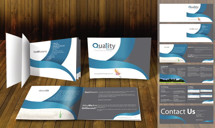 Quality First Brochure