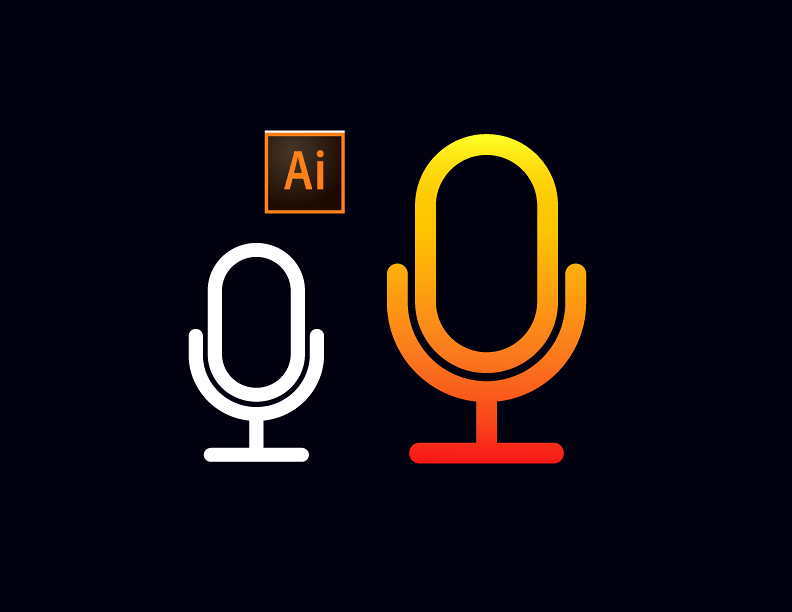 Microphone Icon in