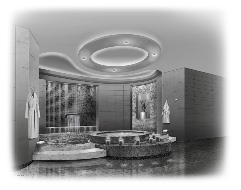 Hotel section interior concept