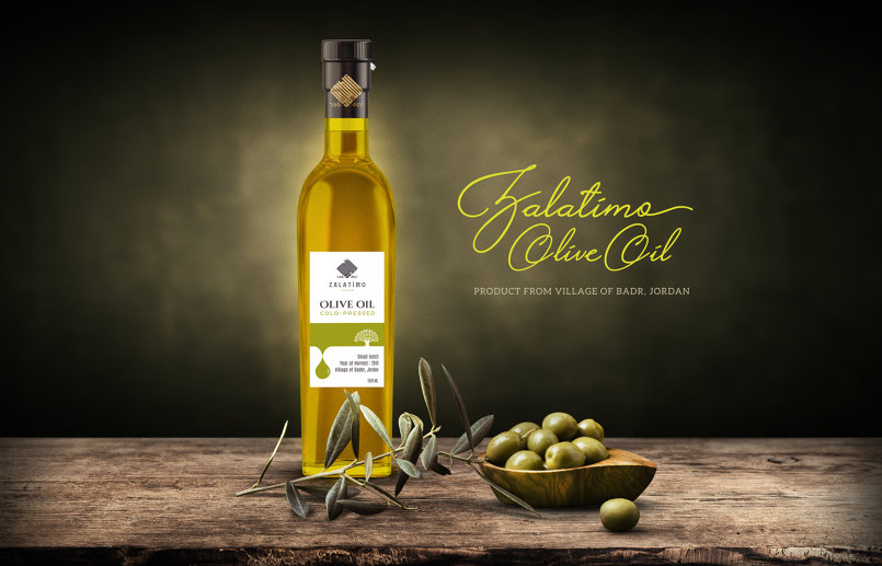 Zalatimo logo and Label design (USA)