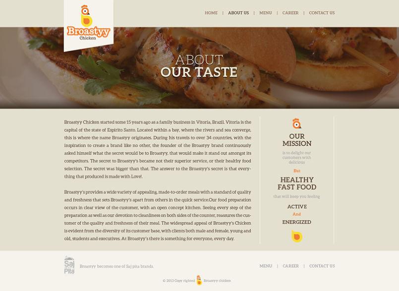 Broastyy Website