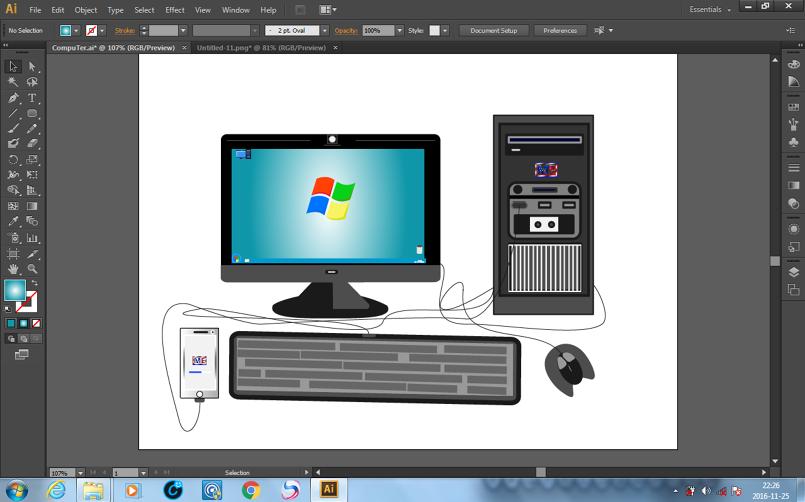 Computer Design & Phone