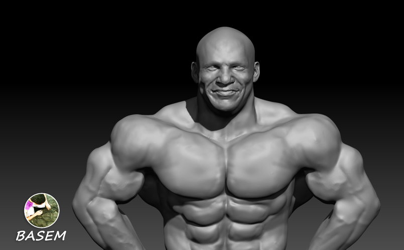 Big Ramy 3D model نموذج ثلاثي الابعاد ل بج رامي السبيعي
