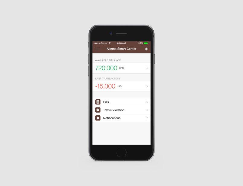 Alinma App Redesign