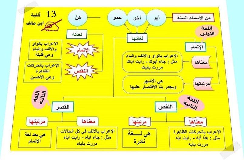اللغة العربية قرأءة وكتابة وتحدثًا واستماعًا ، صوتًا وصرفًا ونحوًا ومع
