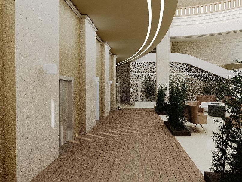 تصميم داخلي لفندق
