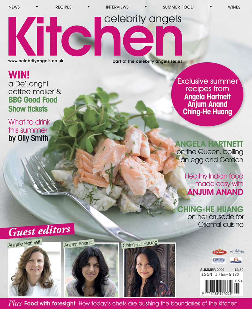 Kitchen celebrity angels magazine, in association with three of the most prolific female chefs in England. With recipes, the latest news, product ideas, groundbreaking features and interviews it contains everything you need to stay abreast of the latest developments in the world of food.