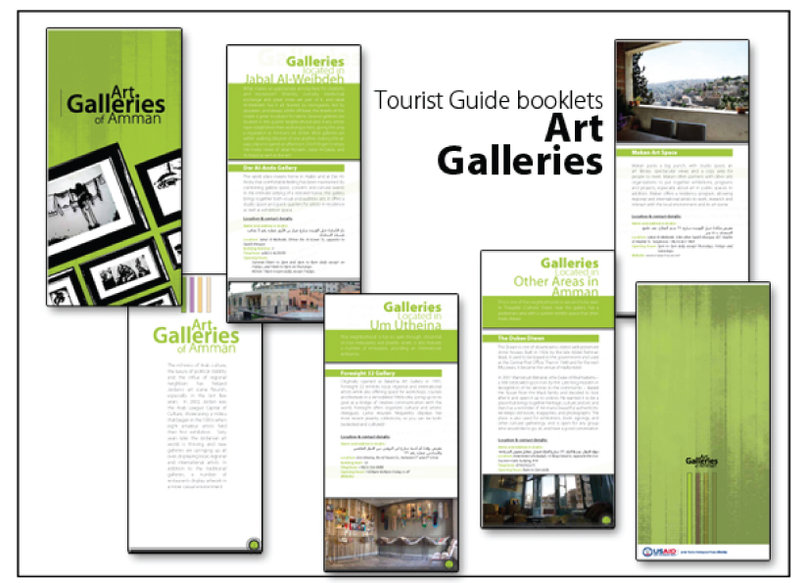 Gallerias located in Jordan booklet