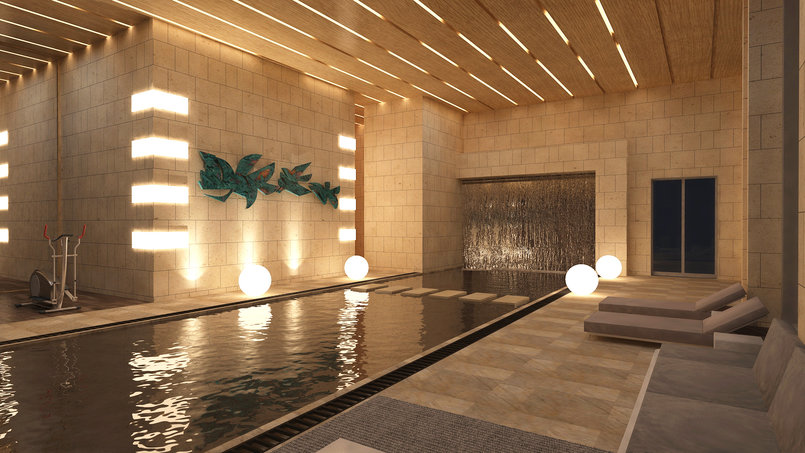 MODERN VILLA _SWIMMING POOL AND GYM _ GF
