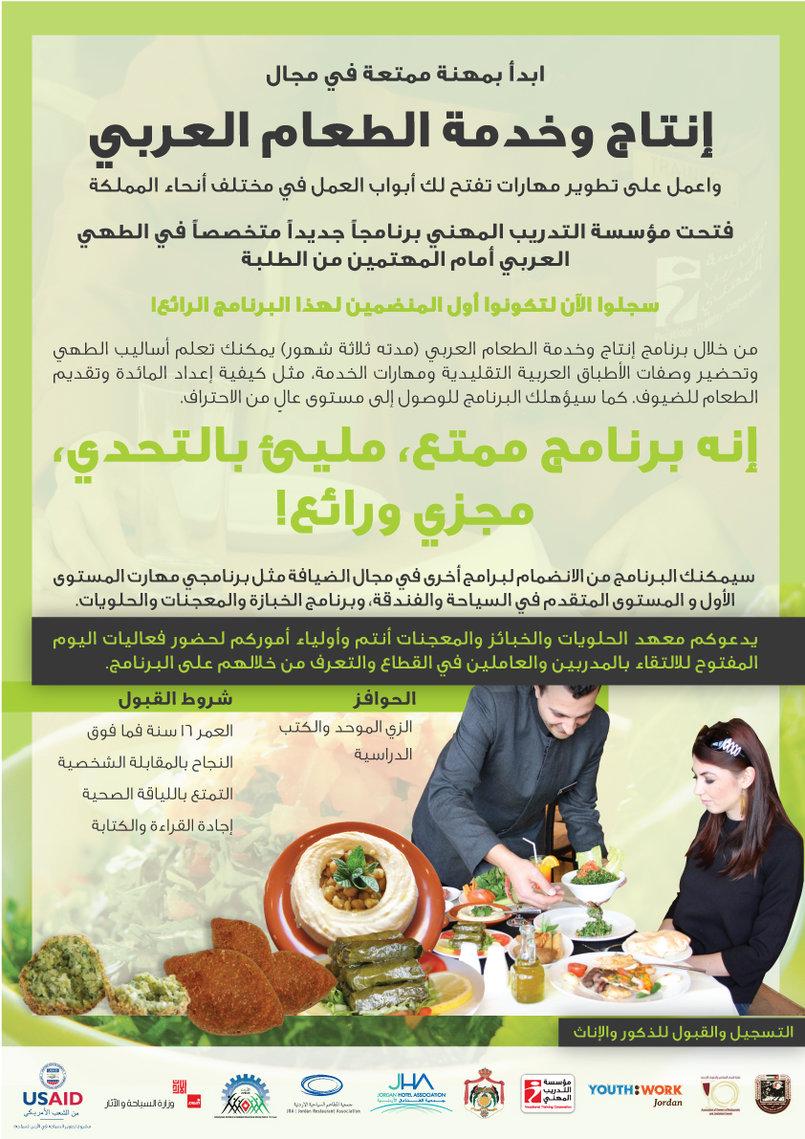 Arabic Food Poster