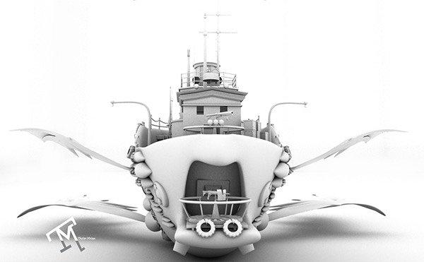 """Fly Boat """" القارب الطائر """""""
