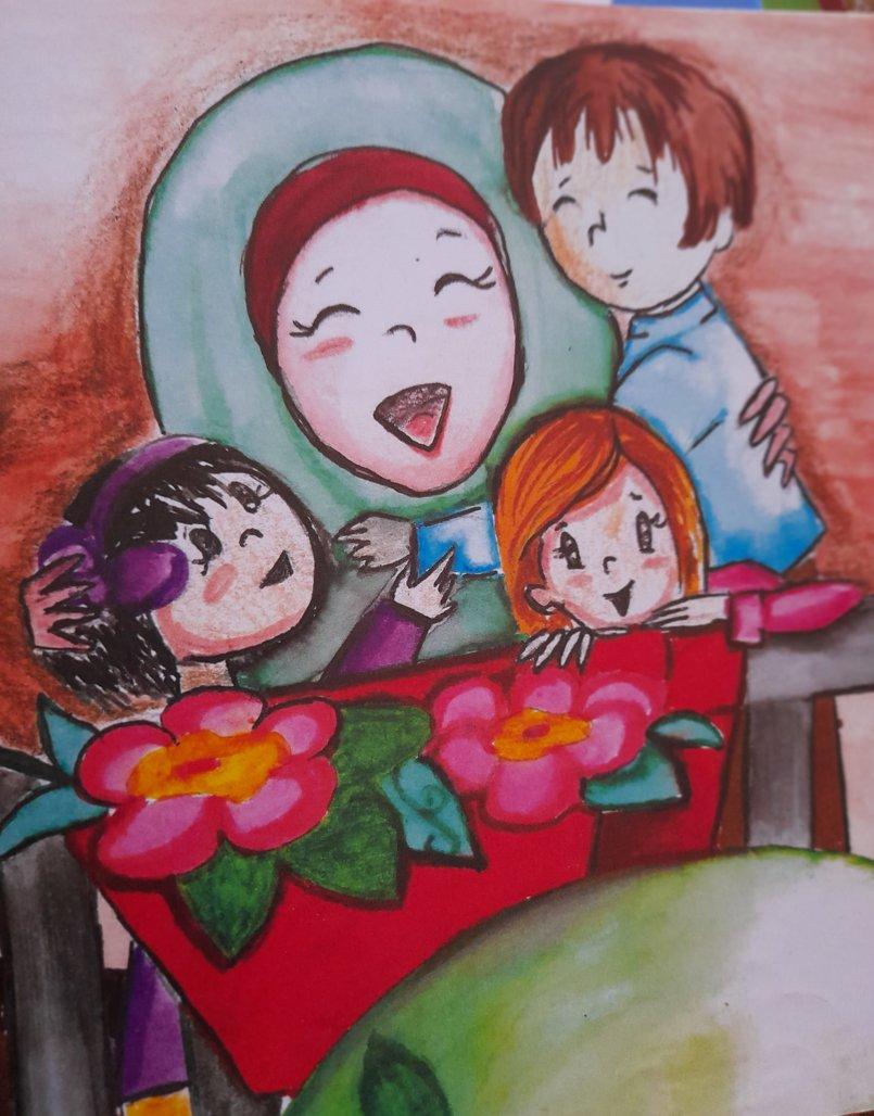 رسوم قصص للأطفال