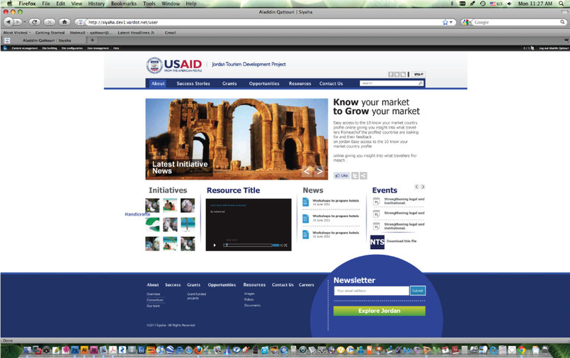 USAID/Jordan Tourism Development Project... www.siyaha.org