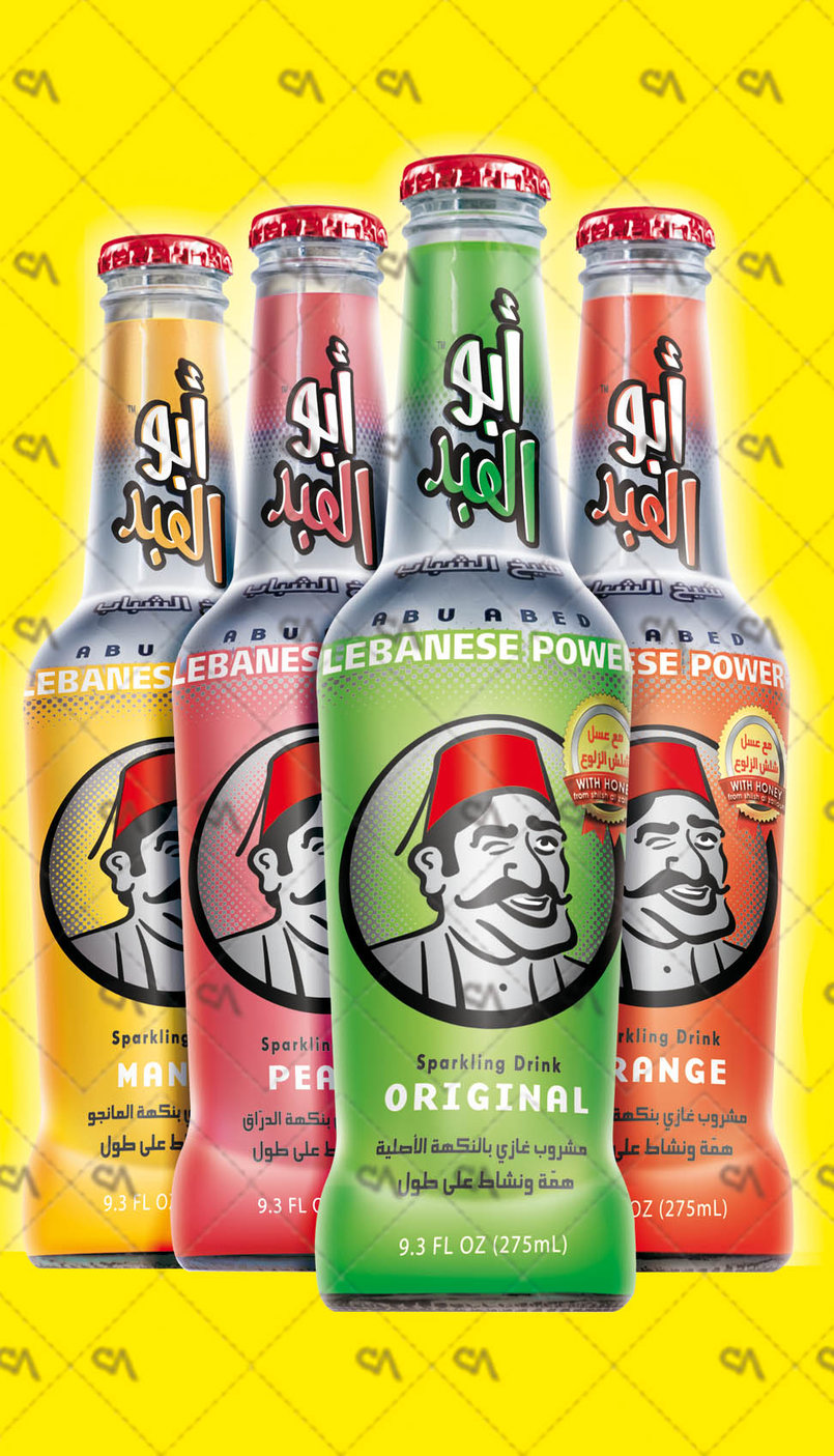 Abou Abed (Lebanese Power) Energetic Sparkling Drink