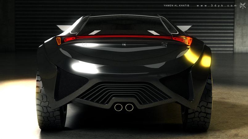 YK SUV Concept Car