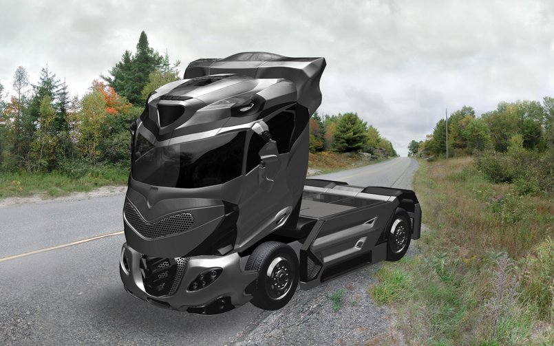 Hyper Truck  with BK