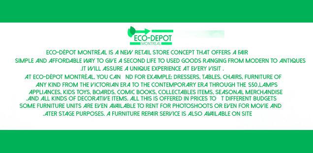 Eco -depot  Logo