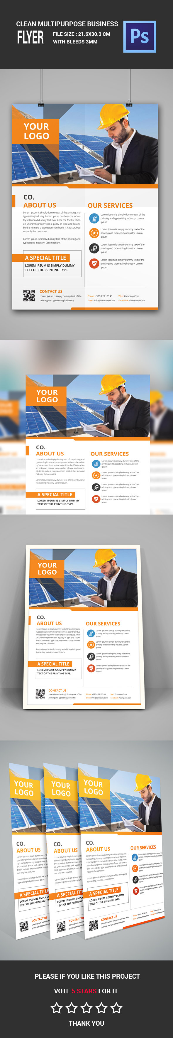 2 - Corporate Flyer A4