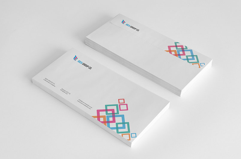 Corporate Stationery Pack Design Template Vol.8