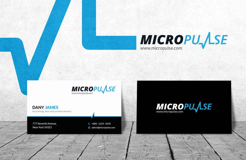 Micro Pulse Business Card