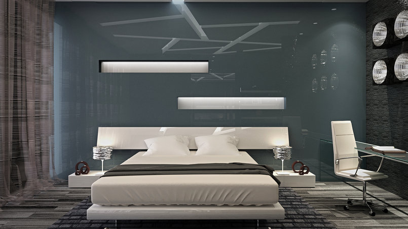 MODERN VILLA _GUYS BEDROOM _ FF