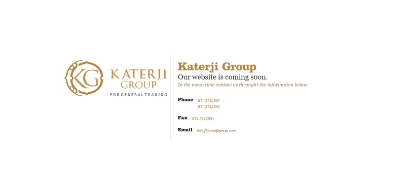 Katerji Group