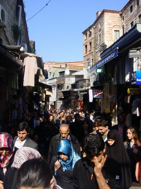 streets of istanbul, turkey
