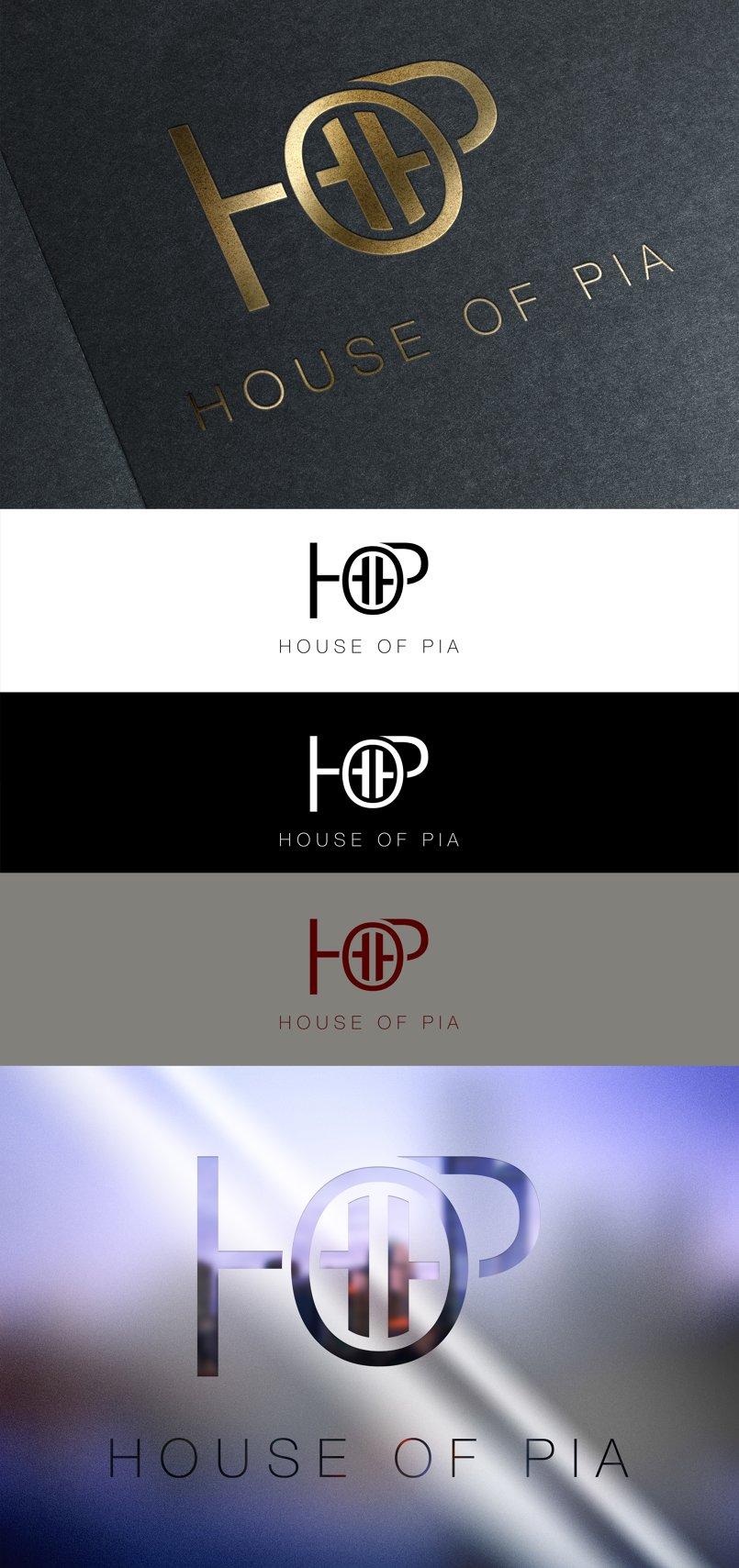 شعار HOP لماركة ملابس