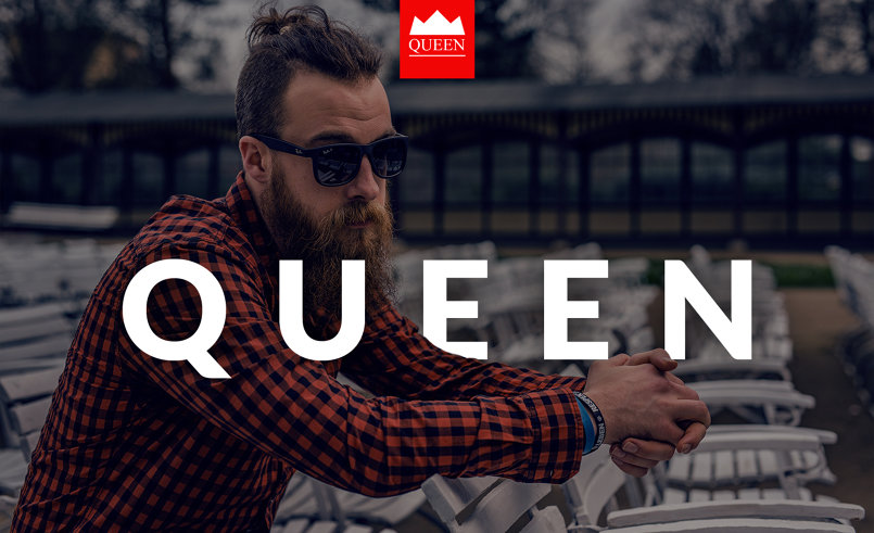 QUEEN PSD Template