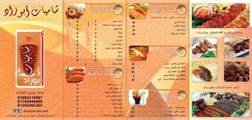 شاميات ابو زاد فلاير ولوجو نهائي