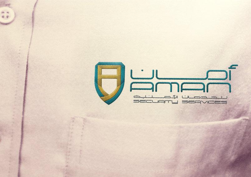 Aman Security Logo Design (1)