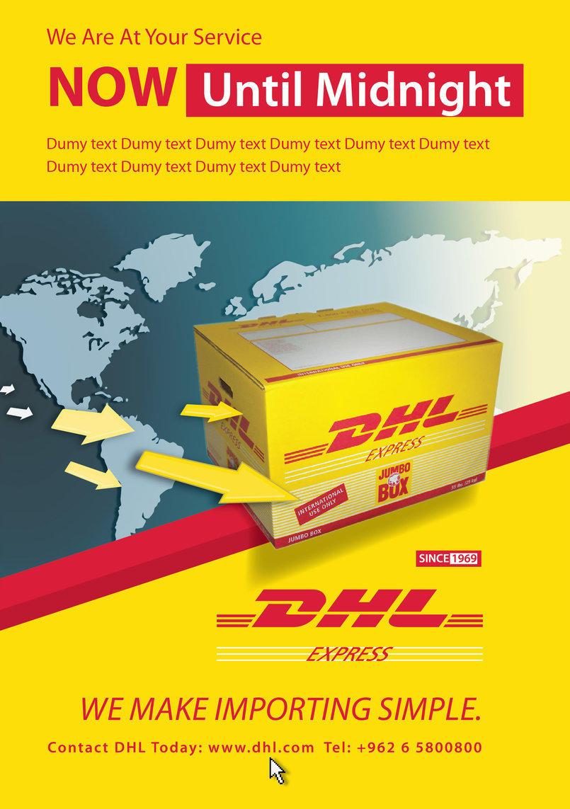 DHL - posters