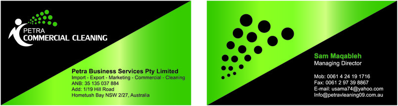 Petra Commercial Cleaning Company