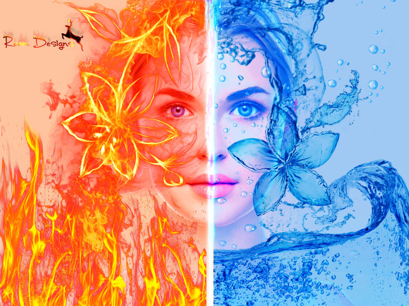 Fire and water style