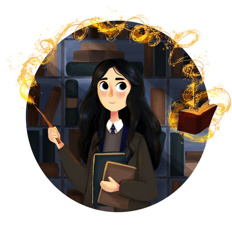 Day 3: house colors ✨ Ravenclaw
