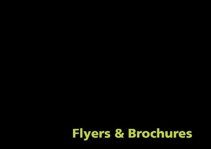 Flyers & Bruchures