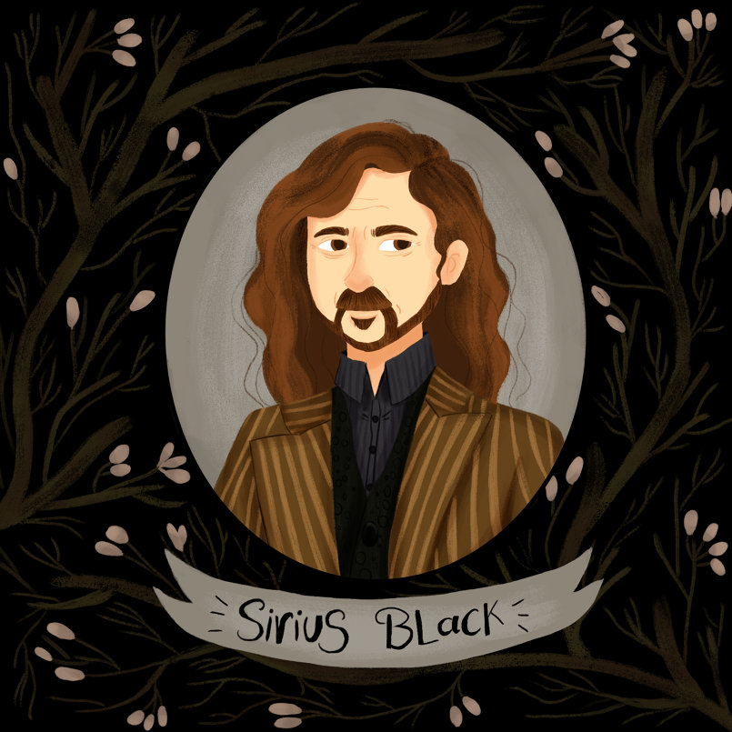 Day 6: parental figure, Sirius BLack