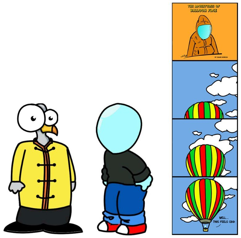 The adventures of Balloon Face
