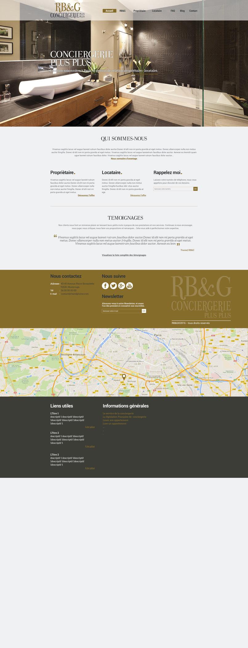 RB&G Conciergeirie Plus Plus Logo