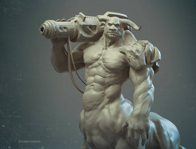 random 3d sculpts