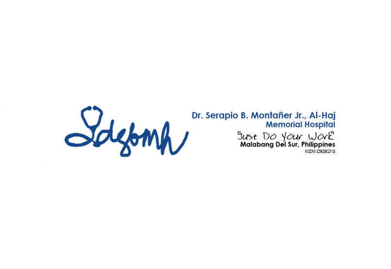 This is a logo that i made for my uncle, who is the owner of the said hospital.