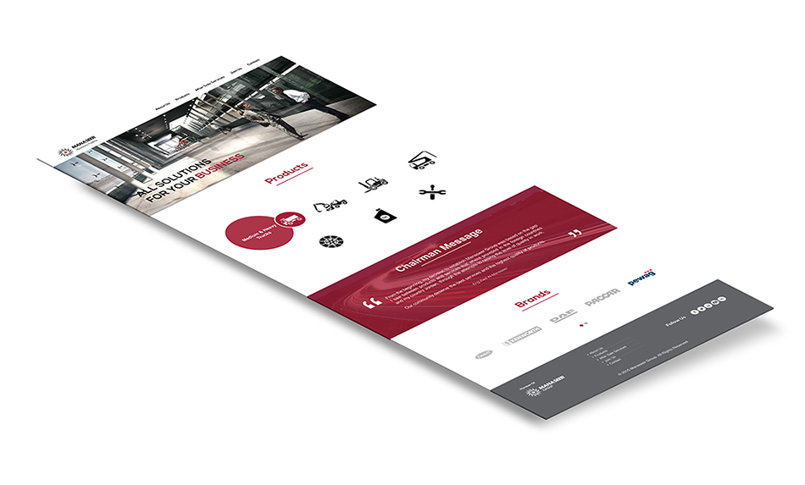 Manaseer Machinery | Website Design